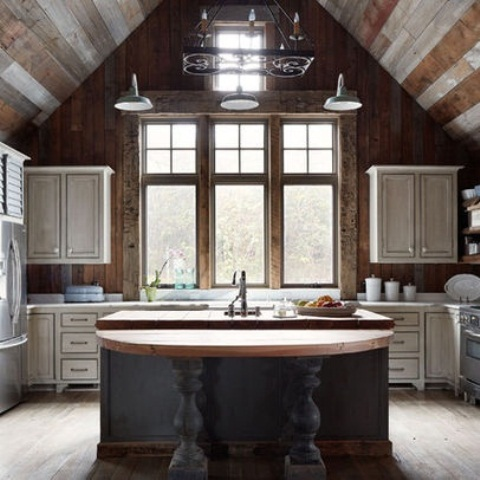 eclectic kitchen cabinets 33 wonderful kitchens interiors designed in barns 3519