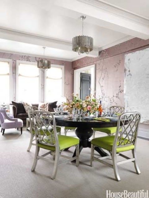 45 Elegant, Classy And Feminine Perfectly Stylish Ideas For Dining Room Design