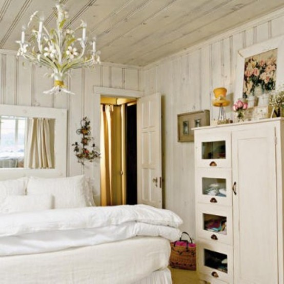 """45 """"All In White"""" Interior Design Ideas For Bedrooms"""