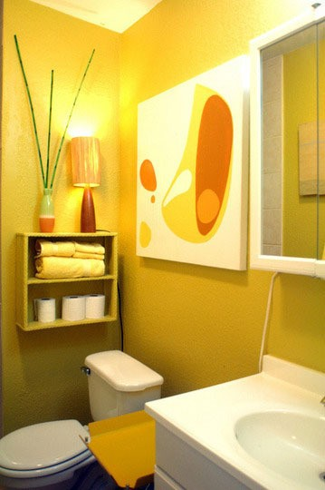 36 Bright And Sunny Yellow Ideas For Perfect Bathroom ...