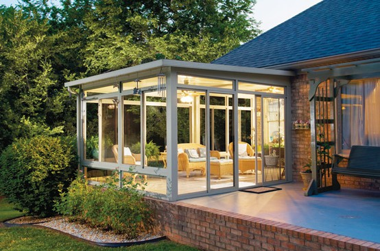 53 Stunning Ideas Bright Sunroom Designs Ideas