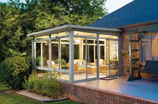53 Stunning Ideas Of Bright Sunroom Designs Ideas on Add On Patio Ideas id=24490