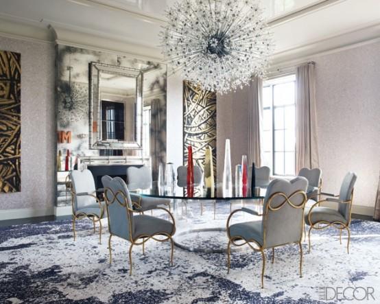45 Elegant, Classy And Feminine Perfectly Stylish Ideas For Dining Room Design