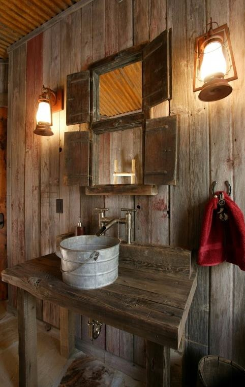 46 Bathroom Interior Designs Made In Rustic Barns