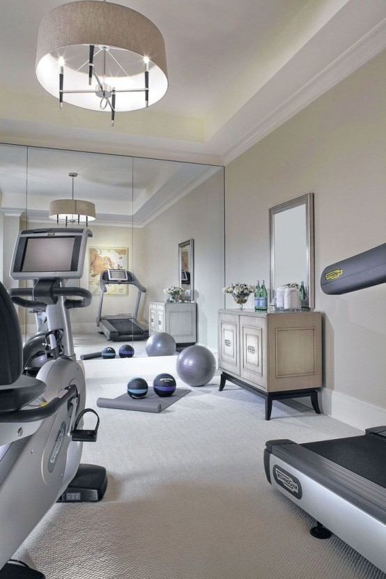 58 awesome ideas for your home gym it 39 s time for workout Living room gym