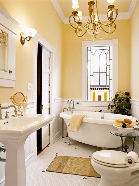 36 Bright And Sunny Yellow Ideas For Perfect Bathroom ... on Contemporary:kkgewzoz5M4= Small Bathroom Ideas  id=29266
