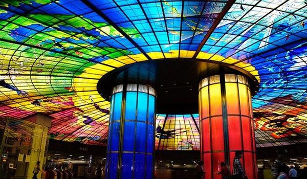 World Most Amazing Interior Design Of Subway Stations