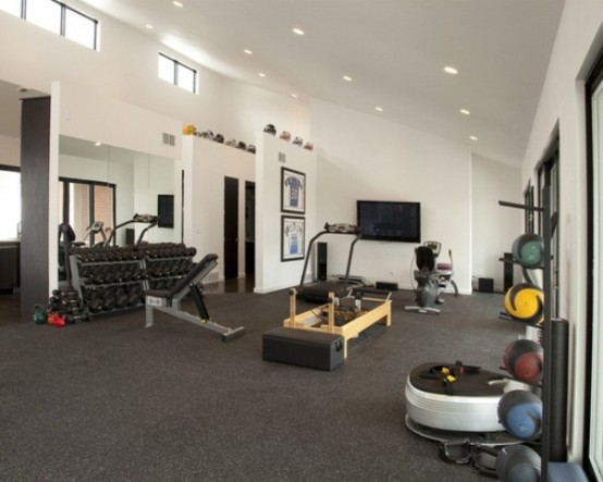Awesome Ideas For Your Home Gym Its Time For Workout - Home gym design ideas