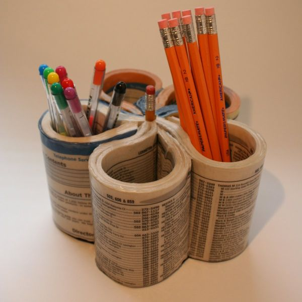15 diy ideas make your own pencil holders Cool pencil holder ideas