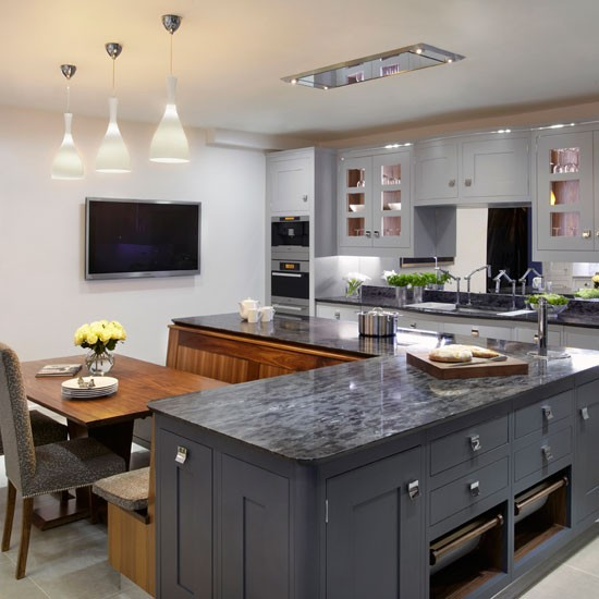 10 of the best working family kitchen ideas for Kitchen designs ideas uk