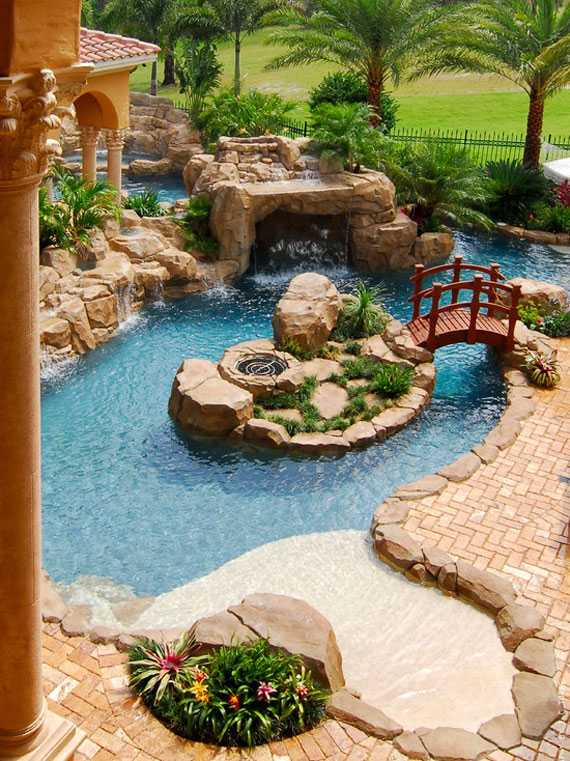 30 Beautiful Backyard Ponds And Water Garden Ideas on Beautiful Backyard Ideas  id=48699