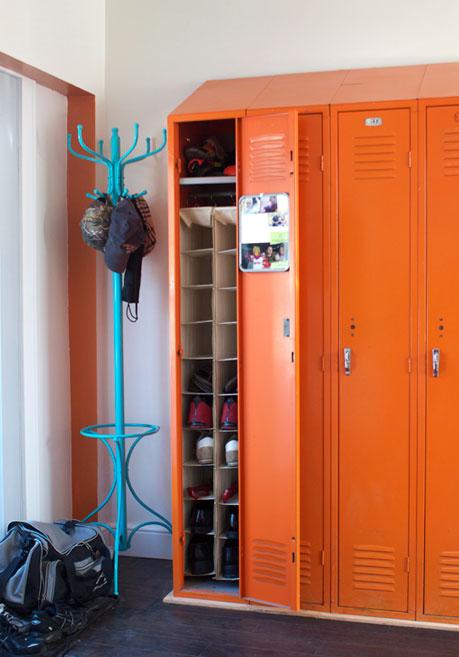 Coat Closet Storage Bins