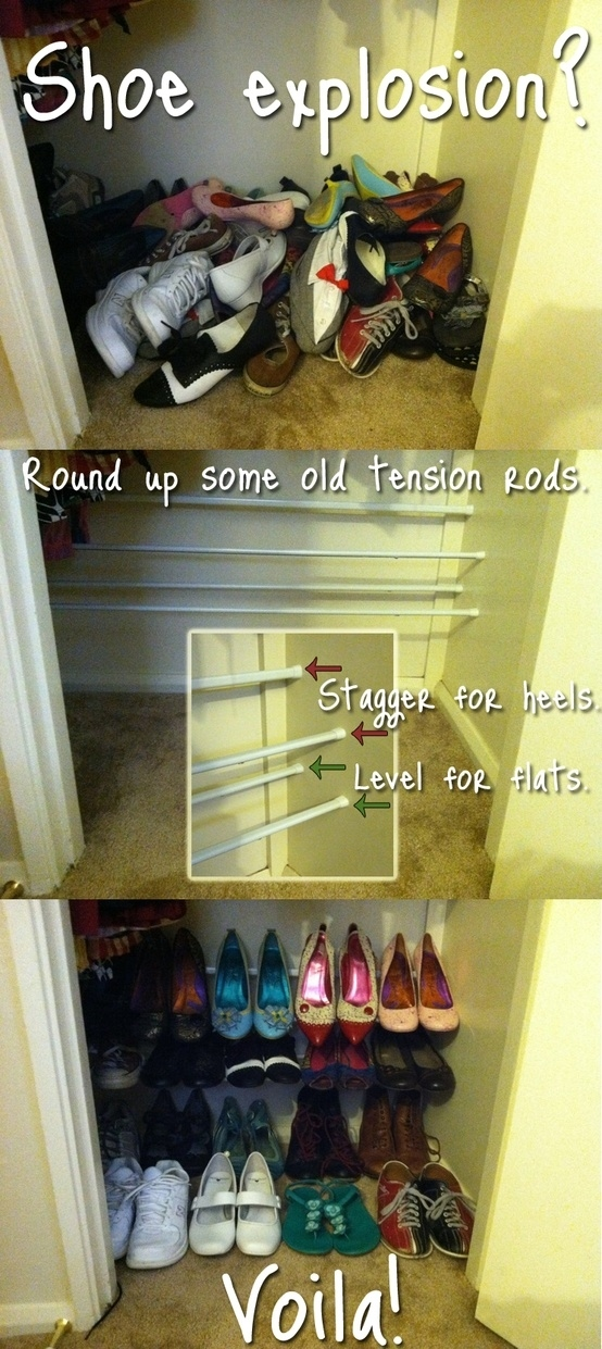 Clever Ways To Store Your Shoes architectureartdesings