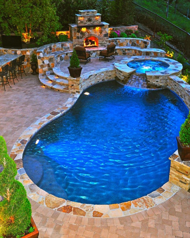40 spectacular pools that will rock your senses for Amazing pool designs