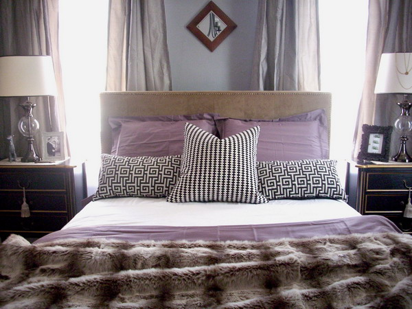 19 Purple And White Bedroom Combination Ideas