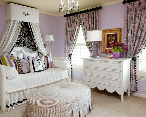 19 purple and white bedroom combination ideas 17804 | purple and white in bedroom combination9