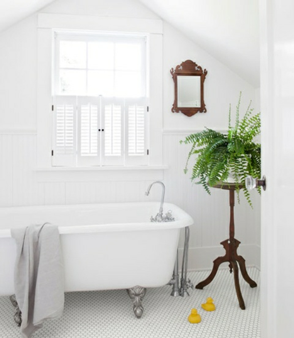 48 Bathroom Interior Ideas With Flowers And Plants   Ideal For Summer.