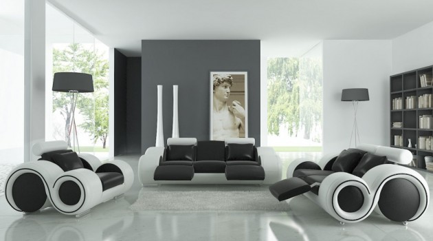black white living room design 20 wonderful black and white contemporary living room designs 20928