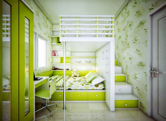 40 Attractive Green Kids Room Designs Inspiration Kids Bedroom Designs