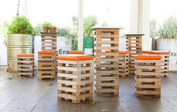 Tavolini Con Pedane : Inventive ways to upcycle shipping pallets
