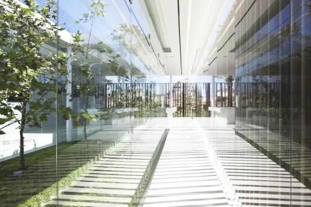 Contemporary Pavilion 2012 Residence by Pitsou Kedem Architects, Israel