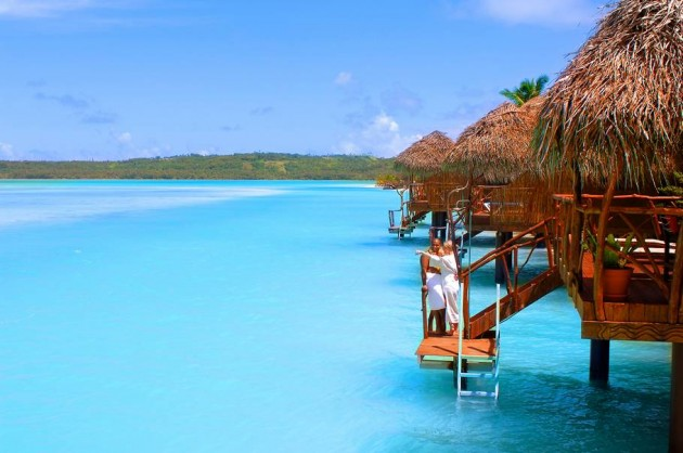 10 Most Tropical Beach Resorts Aitutaki Lagoon Resort Spa