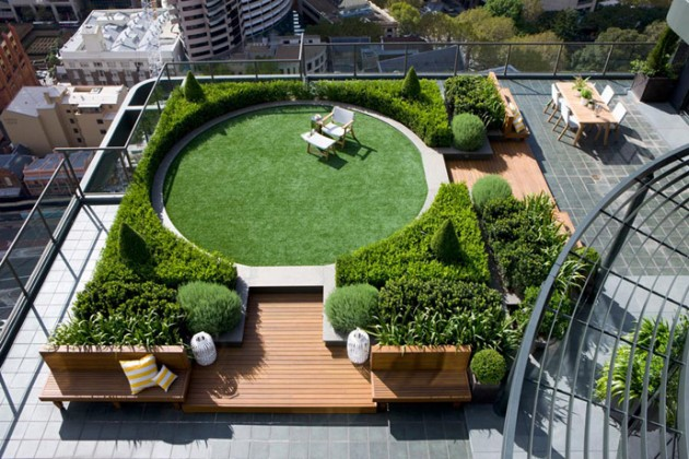 Rooftop Garden: How to Make a Small Space Look Bigger