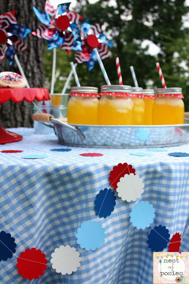 20 Lovely Patriotic Celebration Table Ideas