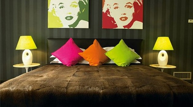 18 Chic Interior Designs Inspired by Pop Art