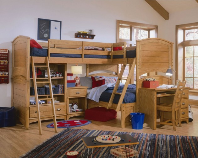 Boys Triple Bunk Beds