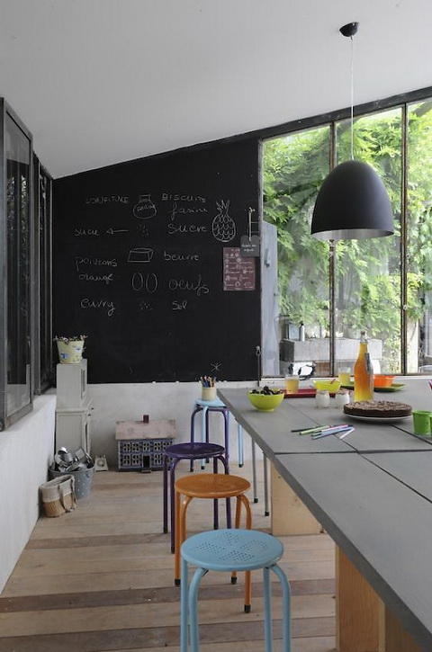 25 Amazing Chalkboard Wall Paint Ideas