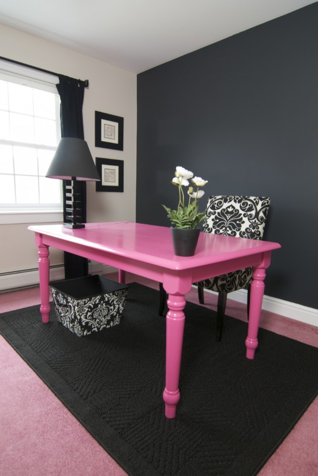 Home Interior Design: 25 Brightly Painted Furniture Ideas