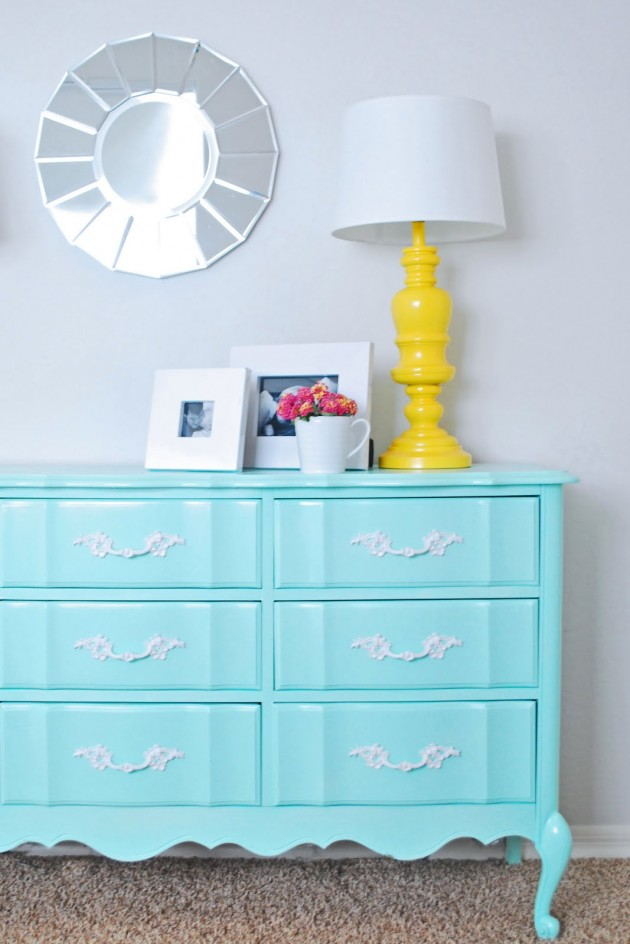 25 Brightly Painted Furniture Ideas, Painting Furniture Ideas
