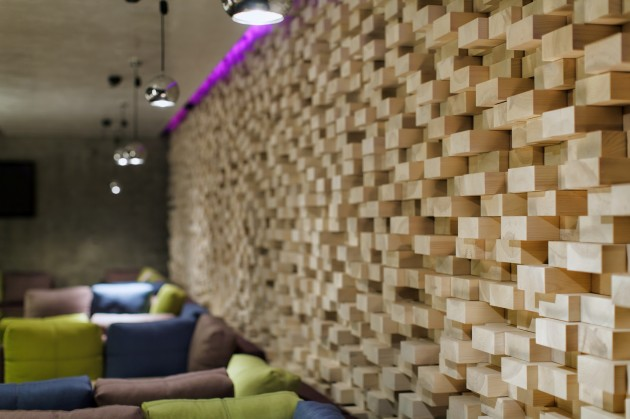 Modern Concrete Restaurant - Yunakov Architects
