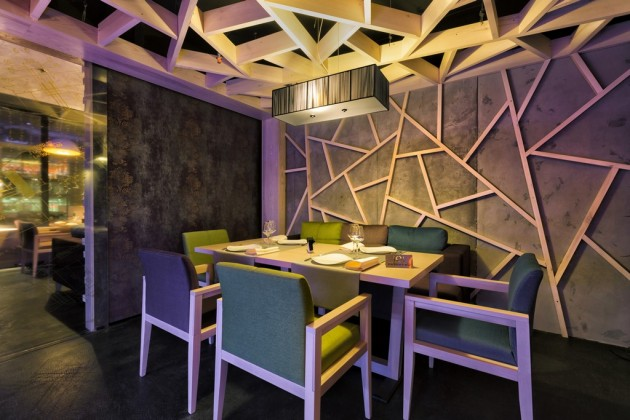 Modern Concrete Restaurant   Yunakov Architects