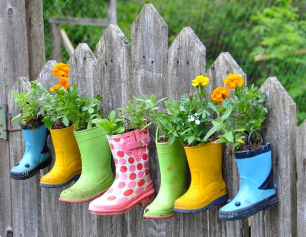 DIY Inspiring Garden Pots