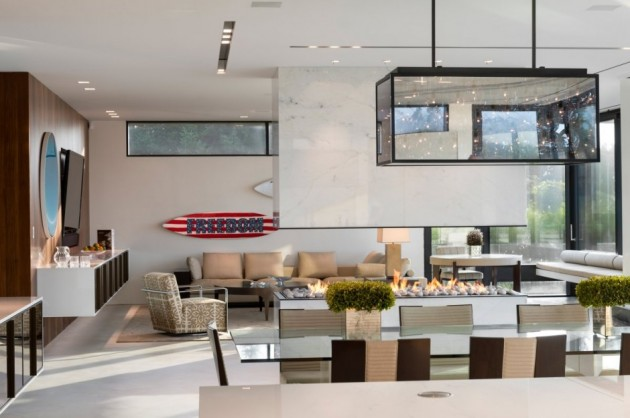 Daniel's Lane Residence by Blaze Makoid Architecture