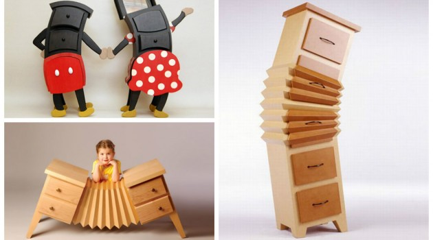 22 Furniture Designs Inspired on Cartoon