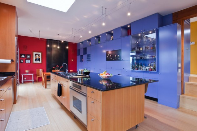 Awesome Colorful Kitchen Ideas Made Stylish with the Last Trends