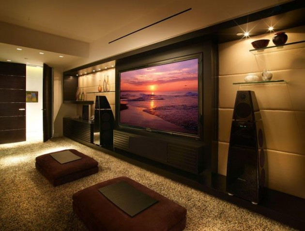 pretty cool lighting ideas  contemporary living room