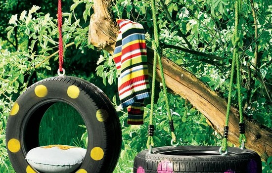 10 DIY Adorable Tree Swings