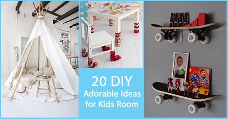 Diy Adorable Kids Rooms Jpg