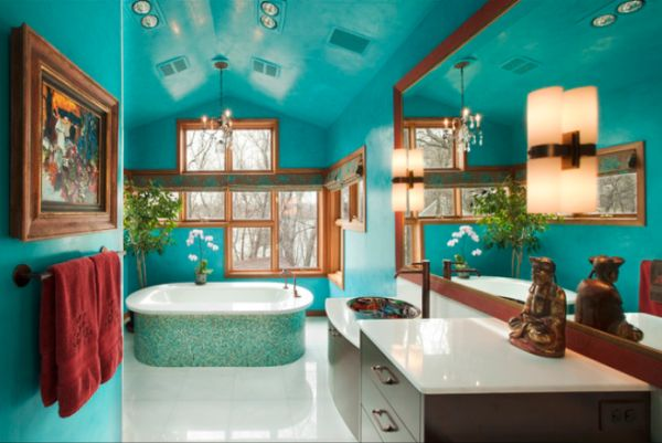 18 Examples of Delightful Atmosphere with Turquoise Color in Your ...