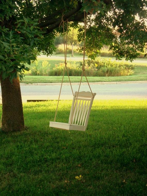 10 DIY Adorable Tree Swings
