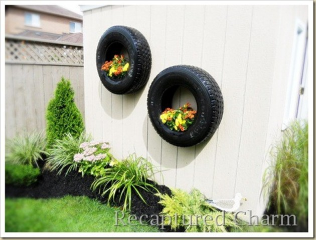 Charming diy ideas how to reuse old tires for How to use old tires in a garden