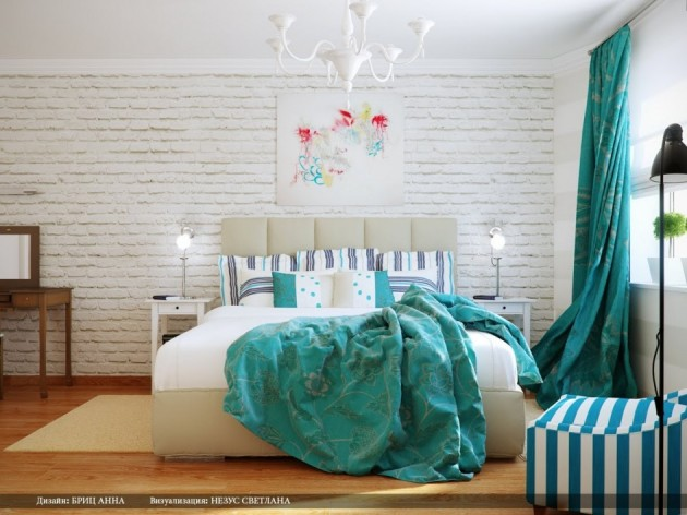 18 Examples of Delightful Atmosphere with Turquoise Color in Your Home