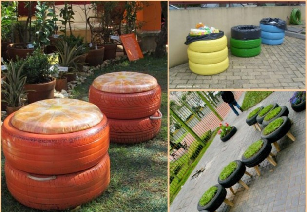 32 incredible ways of creating beauty out of things you Things to make out of old tires