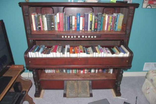 26 DIY Inventive Ideas how to Repurpose Old Pianos