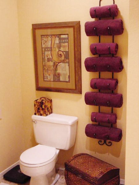 Collections Of Bathroom Towel Design Free Home Designs Photos Ideas - Red decorative towels for small bathroom ideas