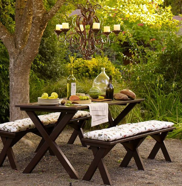 Marvelous 30 Delightful Outdoor Dining Area Design Ideas